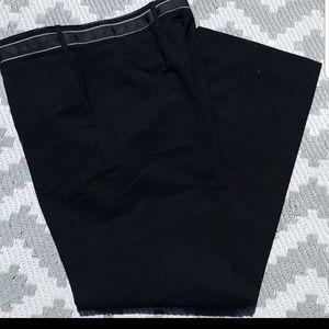 Louis Vuitton flat front wool pants